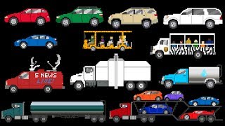 Street Vehicles 5 - Cars, Trucks & SUV's - The Kids' Picture Show (Fun & Educational Learning Video)