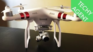 DJI Phantom 3 Standard REVIEW (in The Hands Of A Drone Novice!)