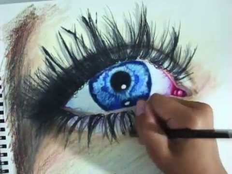 Eyes Blue Drawing Speed Drawing Blue Eye