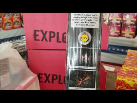Hardball Rockets by Black Cat fireworks