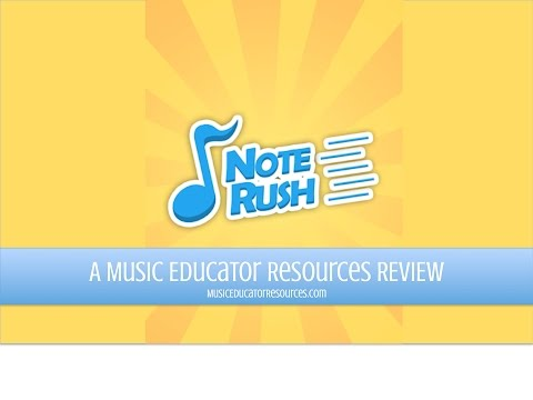 Note Rush: Learn to Read Music APK Cover