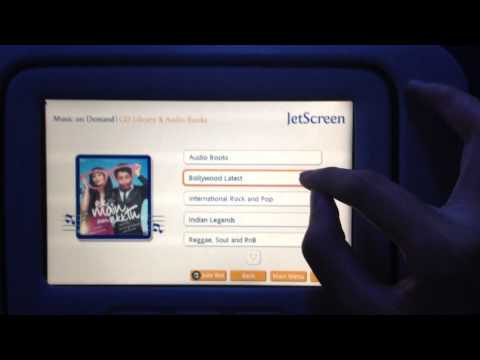 JetScreen -- a review of IFE on Jet Airways 737-800