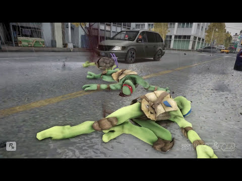 TEENAGE MUTANT NINJA TURTLES VS IRON MAN (MARK 43)