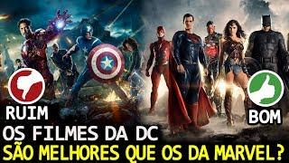 15 MOTIVOS PARA OS FILMES DA DC SEREM MELHORES QUE OS DA MARVEL, SEGUNDO UM SITE.
