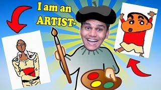 My *NEW* ART Shop - Passpartout #1 Funny Art Game BeastBoyShub