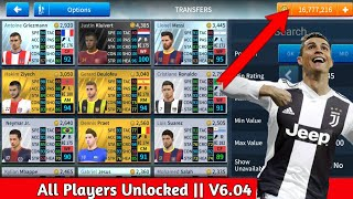 Download Dream League Soccer 2019 V6.04 MegaMod Unlimited Coins || All Players Unlocked 🔓