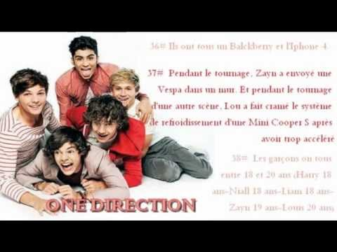 Facts français sur les One direction