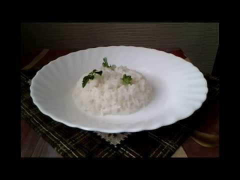 Как приготовить рис на гарнир - видео