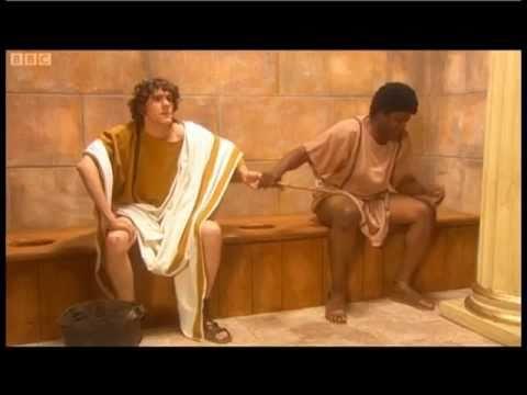 Horrible Histories Roman Toilets Marcus And Sextus Youtube