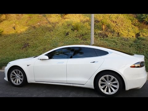 Tesla First Drive Review Autopilot Canyon Run