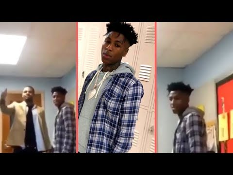 NBA YoungBoy Shocks High School Kids In Houston When He Walks In Class They Go Crazy For YB (2019)