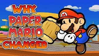 Why Paper Mario Changed
