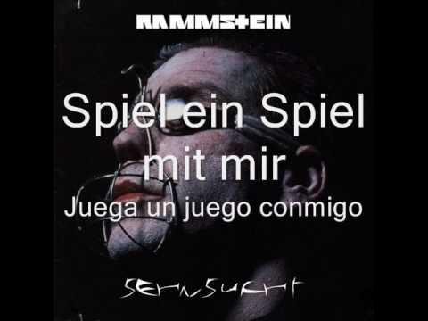 letras musicales de rammstein:
