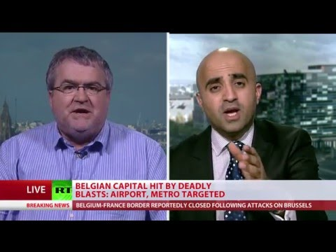 Brussels attacks fierce debate: 'Close the borders' vs 'Stay united' (M. Shafiq vs J. Gaunt)