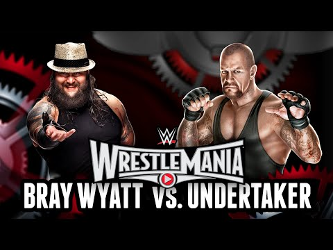 Wwe 2k15 - Wrestlemania 31: Bray Wyatt Vs. Undertaker (wwe 2k15 Match Simulation) video