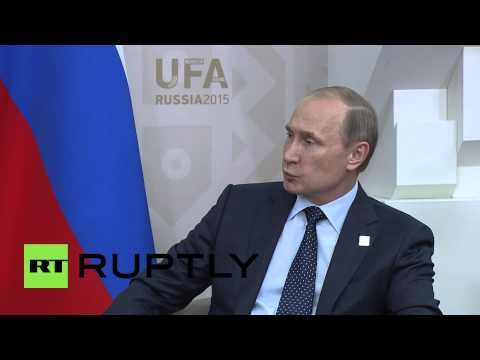 Russia: Putin and Afghanistan's Ghani talk bilateral cooperation on SCO sidelines