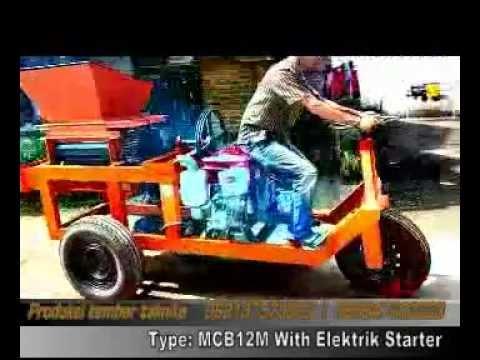Mesin Cetak Batu Bata Type MCB12M With Starter Elektrik Produksi