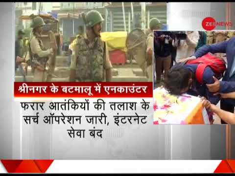 Policeman martyred in encounter with terrorists in J&K's Batamaloo