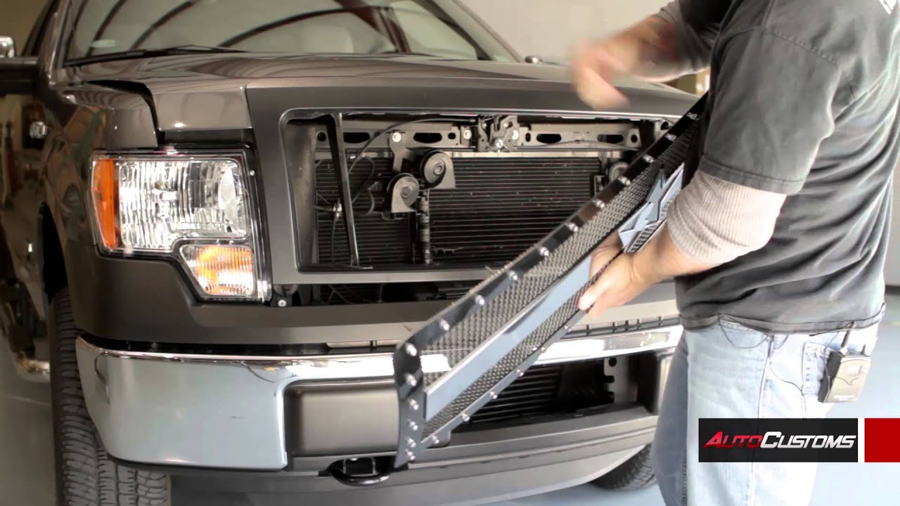 Rbp Rx3 Grille Install Ford F150 Autocustoms Com Youtube