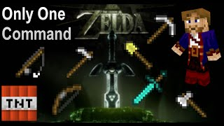 Zelda Items in Only One Command | Minecraft Vanilla Mod