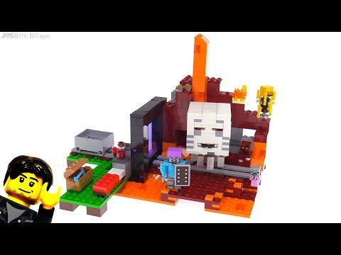 LEGO Minecraft The Nether Portal review 🔥 21143