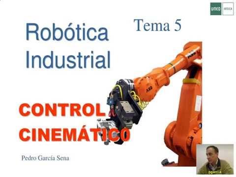 [Robótica Industrial]— Control cinemático del robot.