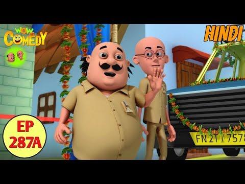 Motu Patlu | Cartoon in Hindi | 3D Animated Cartoon Series for Kids | Motu Patlu Taxi Service thumbnail