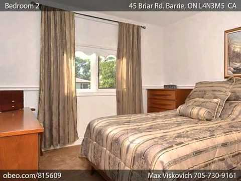 45 Briar Rd. Barrie ON L4N3M5 - Obeo Virtual Tour 815609