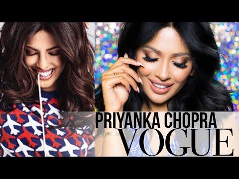 Priyanka Chopra Makeup | Vogue India 2016 | irenesarah