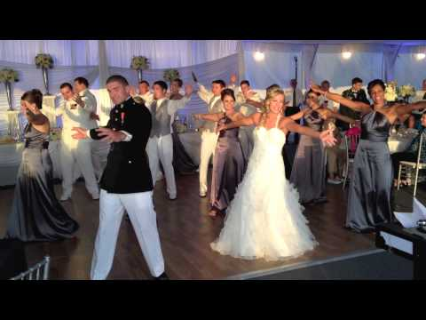 Zak And Brittany's Wedding Flash Mob video