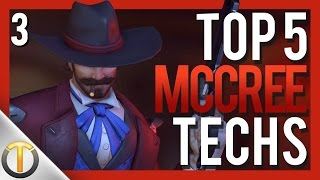 Top 5 MCCREE TECHNIQUES #3 - Overwatch