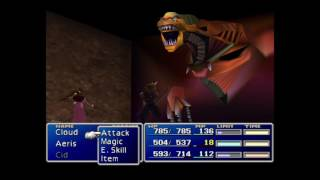 Final Fantasy VII Low level game #15 Demon gate