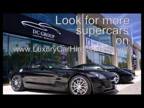 Luxury car hire Marbella - DC Group Europe