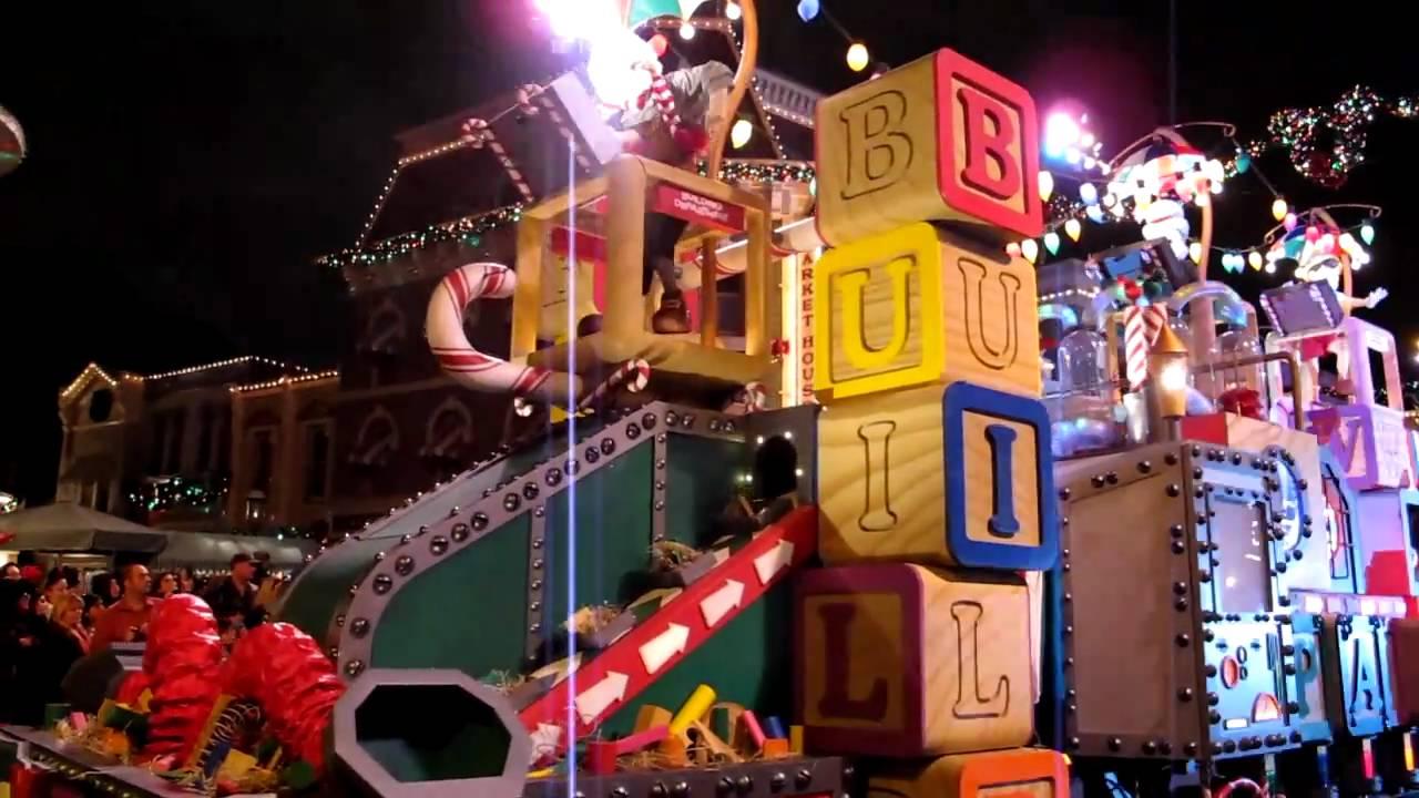 Parade Part 6 9 Santa S Toy Factory Mov Youtube