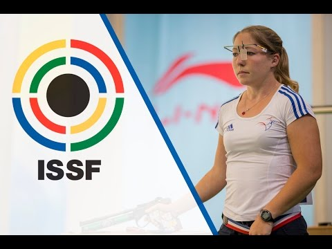 Finals 10m Air Pistol Women - ISSF World Cup in all events 2014, Beijing (CHN)
