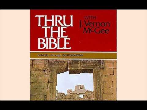 01002 Genesis Intro Divisions - Dr. J. Vernon McGee (Thru The Bible)
