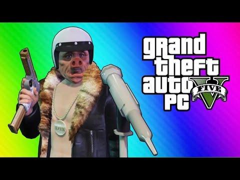 GTA 5 Online Funny Moments - Comedy Club Fun! (Location Glitch)