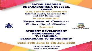 Day 2 - SDP on E-Learning: Blackboard To Broadband