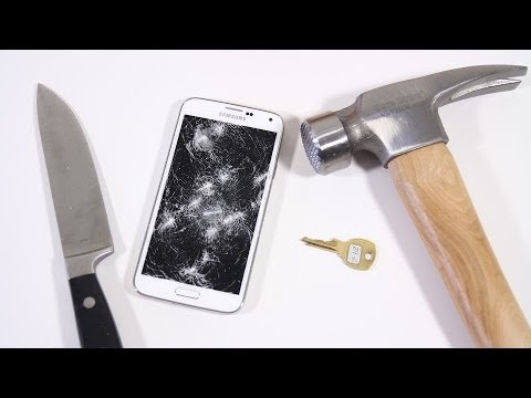 Samsung Galaxy S5 Scratch & Hammer Test!