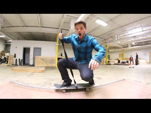 No Skill Skateboarding Challenge!