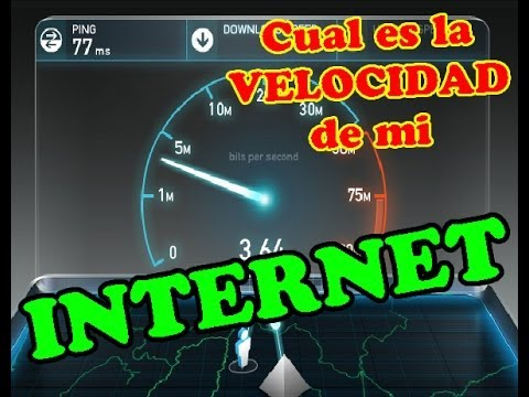 Cual es la Velocidad de mi INTERNET ? APRENDE COMO SABER 2014