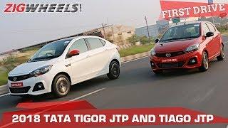 Tata Tiago JTP & Tigor JTP Review | Desi Pocket Rockets! 🚀 | ZigWheels.com