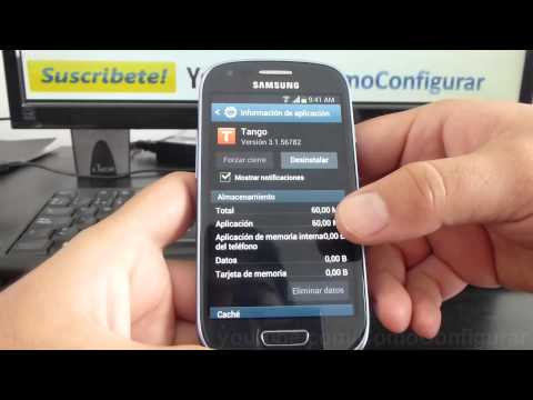 como eliminar app de android samsung galaxy s3 mini i8190 español Full HD