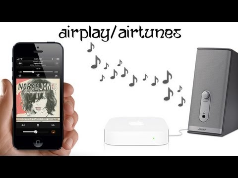 How To Wirelessly Stream SoundMusic To Your Speaker Using Airport Express?