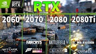 RTX 2060 vs RTX 2070 vs RTX 2080 vs RTX 2080 Ti Test in 8 Games