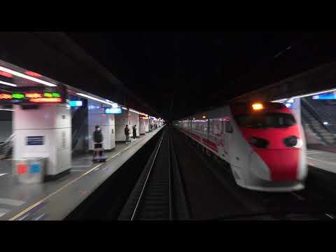 台遊-台灣鐵道影像-EP 0018-台鐵  127次 普悠瑪號 南港 - 台中 路程景