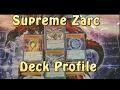 YUGIOH Supreme King dragon Zarc Deck
