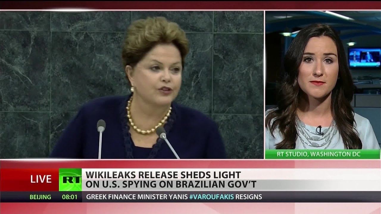 NSA spied on top Brazilian officials, including president – Wikileaks