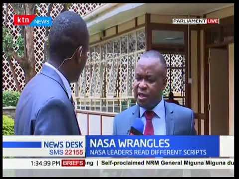 Kiminini MP Chris Wamalwa Wants ODM To Recognize Moses Wetangula As Senate Minority Leader
