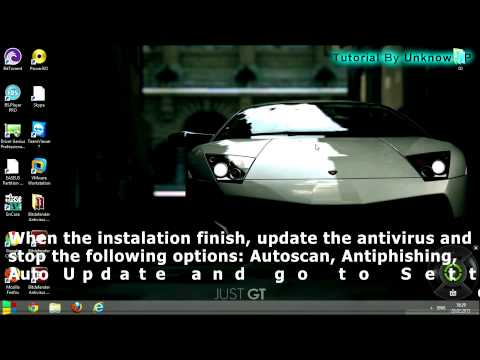 How to install and crack BitDefender Antivirus Plus 2013 ( Crack 100% Work!! )